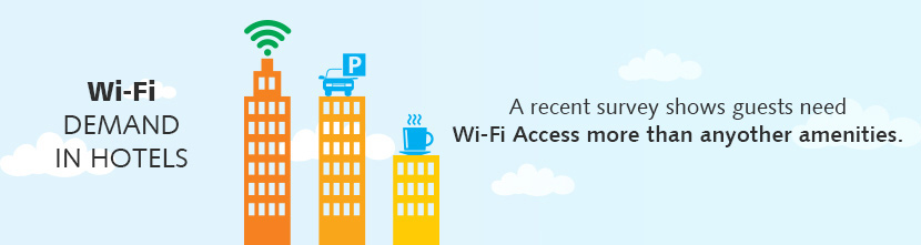 Wi-Fi Solution For Single & Chain of Hotels and Resorts
